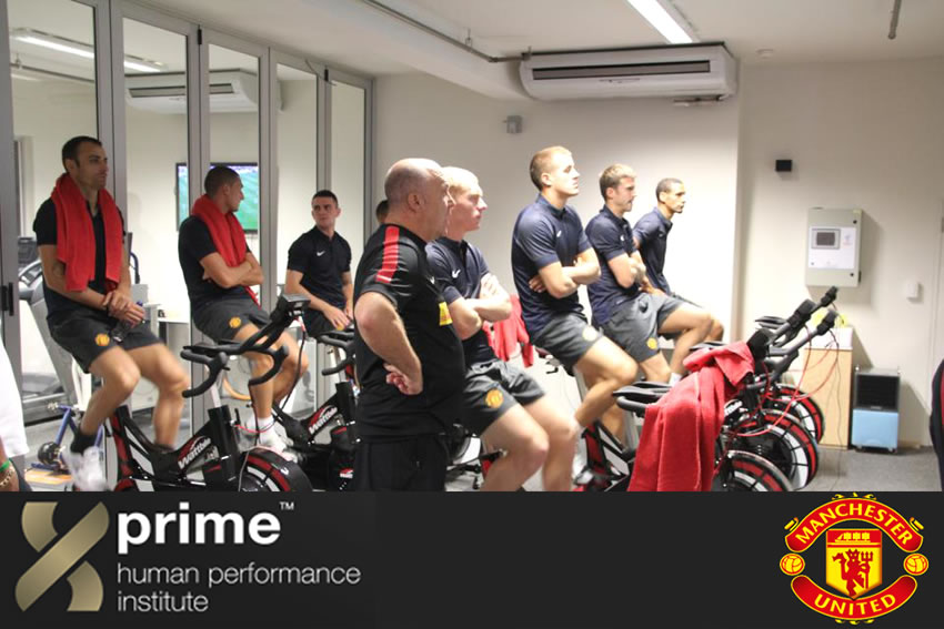 Man United Altitude Training for Pro sports